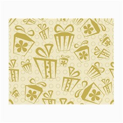 Gift Party Polka Grey Small Glasses Cloth (2 Side)