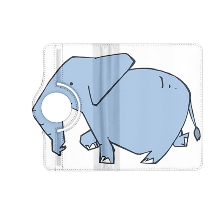 Illustrain Elephant Animals Kindle Fire HD (2013) Flip 360 Case