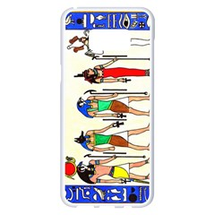 Ancient Egyptian Gods Samsung Galaxy S8 Plus White Seamless Case