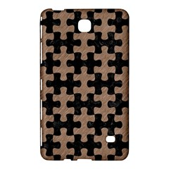 Puzzle1 Black Marble & Brown Colored Pencil Samsung Galaxy Tab 4 (8 ) Hardshell Case