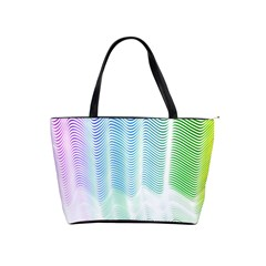 Light Means Net Pink Rainbow Waves Wave Chevron Green Shoulder Handbags