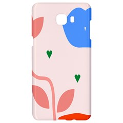 Lip Sexy Flower Tulip Heart Pink Red Blue Green Love Samsung C9 Pro Hardshell Case