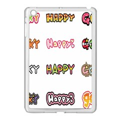 Lucky Happt Good Sign Star Apple Ipad Mini Case (white)