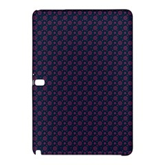Purple Floral Seamless Pattern Flower Circle Star Samsung Galaxy Tab Pro 12 2 Hardshell Case