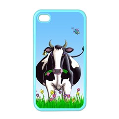 Dairy Cow Apple Iphone 4 Case (color)