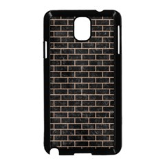 Brick1 Black Marble & Brown Colored Pencil Samsung Galaxy Note 3 Neo Hardshell Case (black)