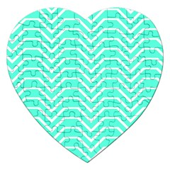 Seamless Pattern Of Curved Lines Create The Effect Of Depth The Optical Illusion Of White Wave Jigsaw Puzzle (heart)