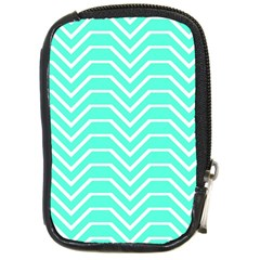 Seamless Pattern Of Curved Lines Create The Effect Of Depth The Optical Illusion Of White Wave Compact Camera Cases