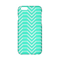 Seamless Pattern Of Curved Lines Create The Effect Of Depth The Optical Illusion Of White Wave Apple Iphone 6/6s Hardshell Case
