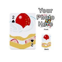 Seeds Strawberry Bread Fruite Red Playing Cards 54 (mini)