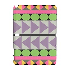 Shapes Patchwork Circle Triangle Galaxy Note 1