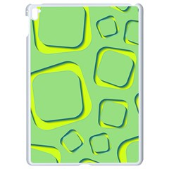 Shapes Green Lime Abstract Wallpaper Apple Ipad Pro 9 7   White Seamless Case