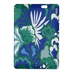Tropics Leaf Bluegreen Kindle Fire Hdx 8 9  Hardshell Case