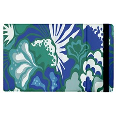 Tropics Leaf Bluegreen Apple Ipad Pro 9 7   Flip Case