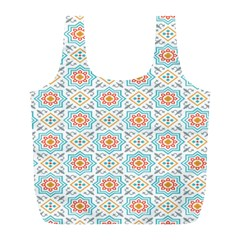 Star Sign Plaid Full Print Recycle Bags (l)