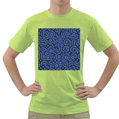 Broken Pattern C Green T Shirt