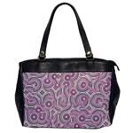 Broken Pattern E Office Handbags Front