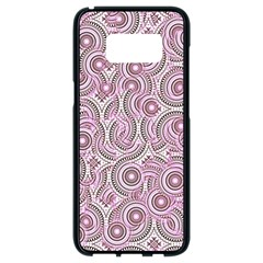 Broken Pattern E Samsung Galaxy S8 Black Seamless Case