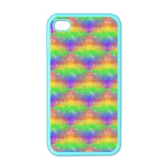 Painted Rainbow Pattern Apple iPhone 4 Case (Color)