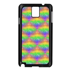 Painted Rainbow Pattern Samsung Galaxy Note 3 N9005 Case (Black)