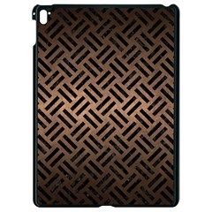 Woven2 Black Marble & Bronze Metal (r) Apple Ipad Pro 9 7   Black Seamless Case