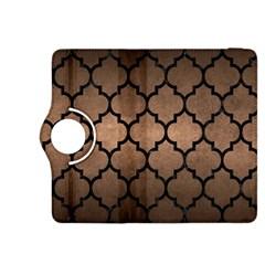 Tile1 Black Marble & Bronze Metal (r) Kindle Fire Hdx 8 9  Flip 360 Case
