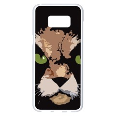 Cat  Samsung Galaxy S8 Plus White Seamless Case