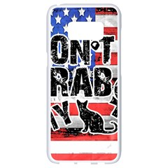 Dont Grab My Samsung Galaxy S8 White Seamless Case