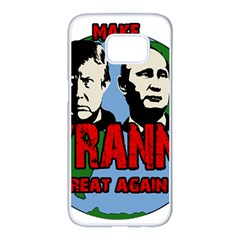 Make Tyranny Great Again Samsung Galaxy S7 Edge White Seamless Case