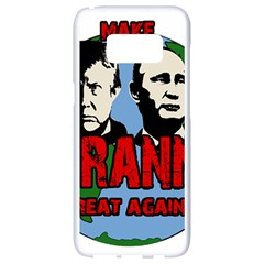 Make Tyranny Great Again Samsung Galaxy S8 White Seamless Case