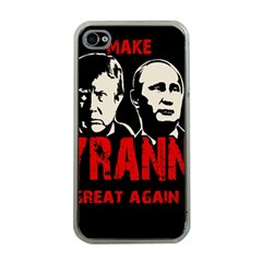 Make Tyranny Great Again Apple Iphone 4 Case (clear)
