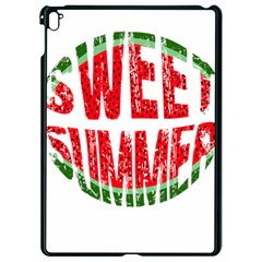 Watermelon   Sweet Summer Apple Ipad Pro 9 7   Black Seamless Case