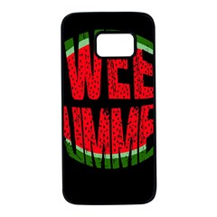 Watermelon   Sweet Summer Samsung Galaxy S7 Black Seamless Case