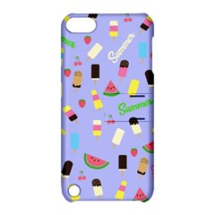 Summer Pattern Apple Ipod Touch 5 Hardshell Case With Stand