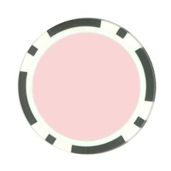 Blush Pink Poker Chip Card Guard