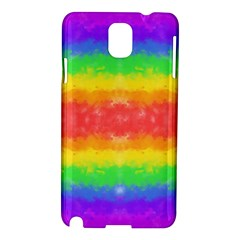 Striped Painted Rainbow Samsung Galaxy Note 3 N9005 Hardshell Case