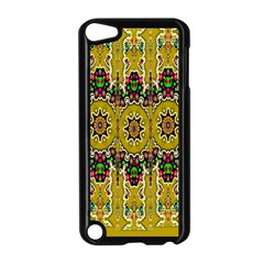 Rainbow And Stars Coming Down In Calm  Peace Apple Ipod Touch 5 Case (black)