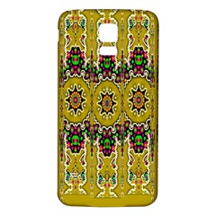 Rainbow And Stars Coming Down In Calm  Peace Samsung Galaxy S5 Back Case (white)