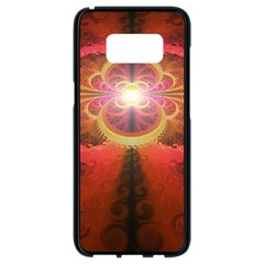 Liquid Sunset, A Beautiful Fractal Burst Of Fiery Colors Samsung Galaxy S8 Black Seamless Case