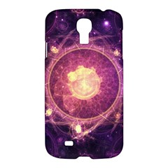 A Gold And Royal Purple Fractal Map Of The Stars Samsung Galaxy S4 I9500/i9505 Hardshell Case