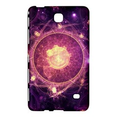 A Gold And Royal Purple Fractal Map Of The Stars Samsung Galaxy Tab 4 (7 ) Hardshell Case