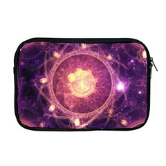 A Gold And Royal Purple Fractal Map Of The Stars Apple Macbook Pro 17  Zipper Case