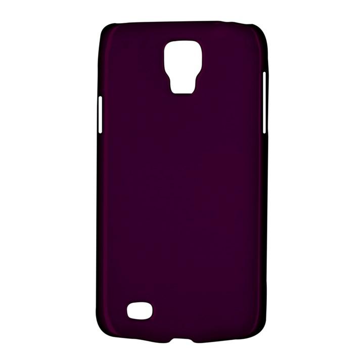 Black Cherry Solid Color Galaxy S4 Active