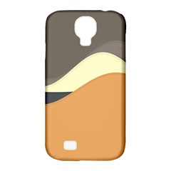 Wave Chevron Waves Material Samsung Galaxy S4 Classic Hardshell Case (pc+silicone)