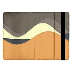 Wave Chevron Waves Material Samsung Galaxy Tab Pro 12 2  Flip Case