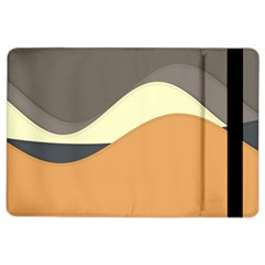 Wave Chevron Waves Material Ipad Air 2 Flip