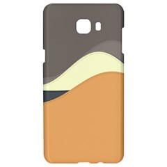 Wave Chevron Waves Material Samsung C9 Pro Hardshell Case