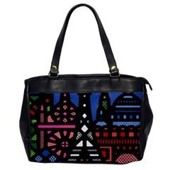 7 Wonders World Office Handbags