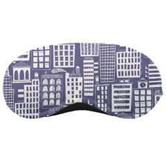 Building Citi Town Cityscape Sleeping Masks
