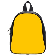 Amber Solid Color  School Bags (small)